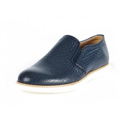 Scarpa modello Capodimonte- Vitello Blu